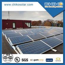 Flat roof 200kw solar panel mounting brackets system