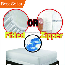 Amazon hot Premium breathable Allergy hypoallergenic bedbugs waterproof mattress protector waterproof mattress cover bed bugs