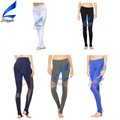 Women Mesh Design Step Foot Jogging Pants Girls Sweatpants