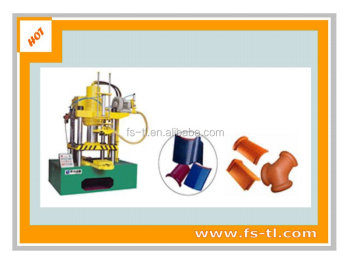 Semi-auto wet pressing roofing tile designing machine 100T