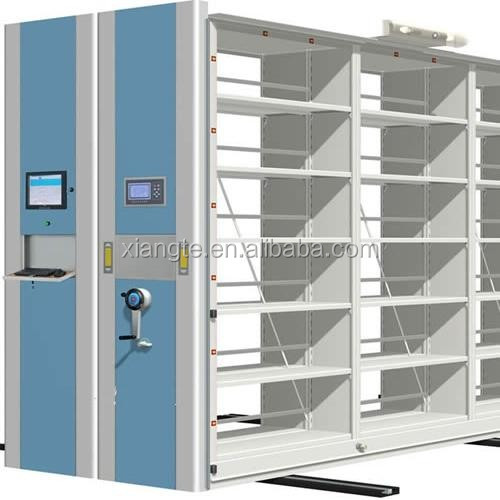 intellegent mobile metal shelving moving cabinet rack