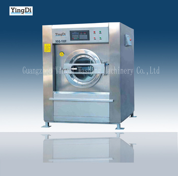 Top sale general electric washing machine for laundry shop,304 stainless steel commercial washing machine