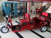 3 wheel motorcycle car/electric tricycle/passenger tricycle scooter /48V,60Ah handicaped ,electric tricycle/three wheel electric