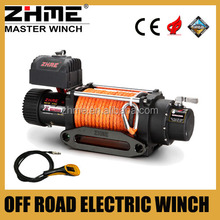 12 volt 9500lbs tractor winch with reliability control box