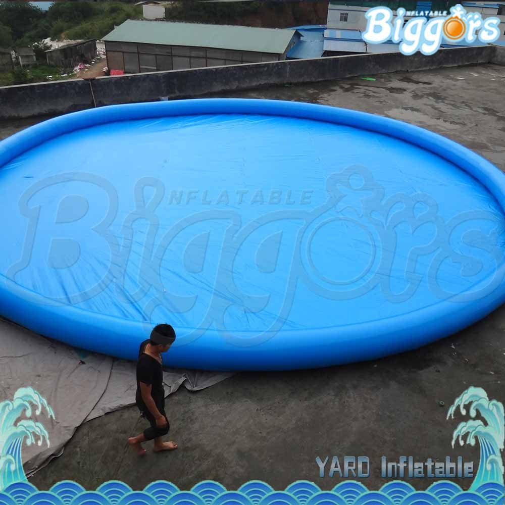 Outdoor Large Inflatable Swimming Pool For Rental