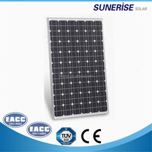 36cells 1480*670*35mm mono 130w panel solar cell panel price