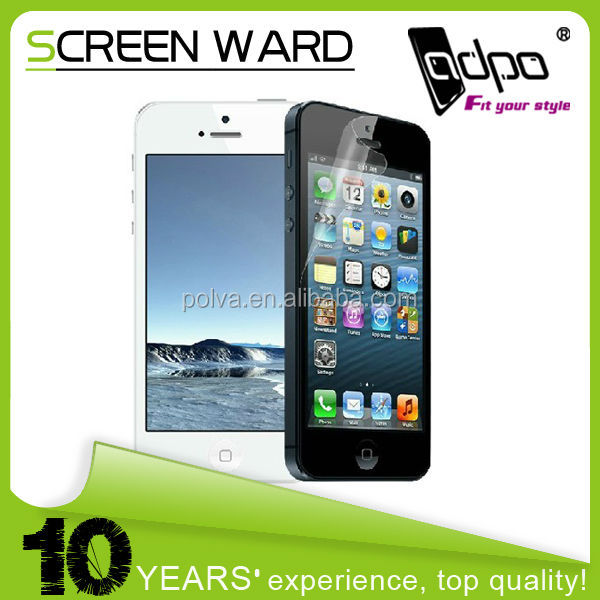 Hot Selling Model!Perfect Fit Matte Anti-glare Screen Cover For Iphone 5s Screen Cover