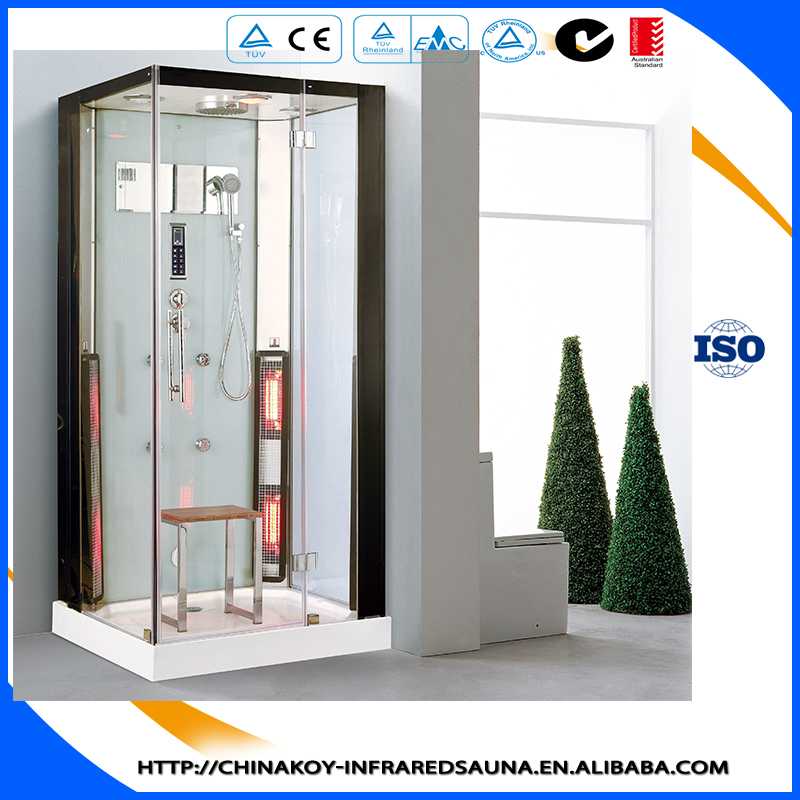 New Series Sauna Shower house,Infrared Sauna ,Steam Shower, enclosed massage whirlpool shower combination K081