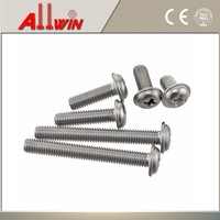 M3 M3.5 Cross recessed pan head flat countersunk head machine screws with collar-Product grade A DIN 967-1994