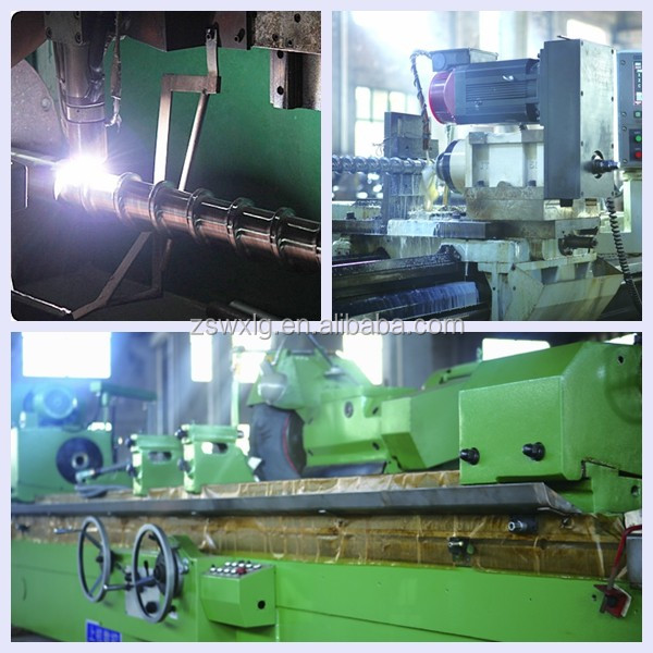 cold feed pinned screw and barrel of rubber machine from zhoushan
