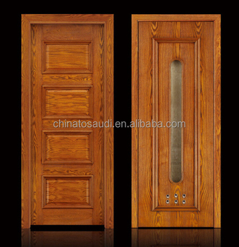interior door model wood with glass design