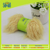 Chinese factory wholesale superwash 100% nylon feather yarn for hand knitting