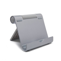 Universal folding aluminum tablet pos stand