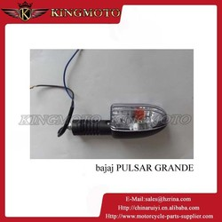 Motorcycle Tail Brake Light Turn Signal Red LED Black Custom Chrome Cruiser
