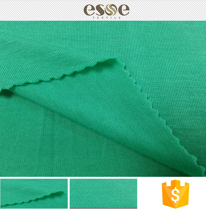 Garment custom soft cheap knit jersey fabric