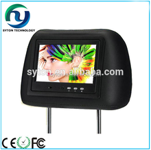 7inch 9inch wifi/3g Headrest taxi tv advertising for taxi ad use