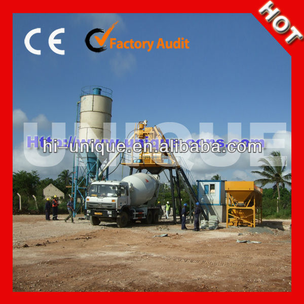 Hot Sale HZS50 Fixed Ready Mix Concrete Plant