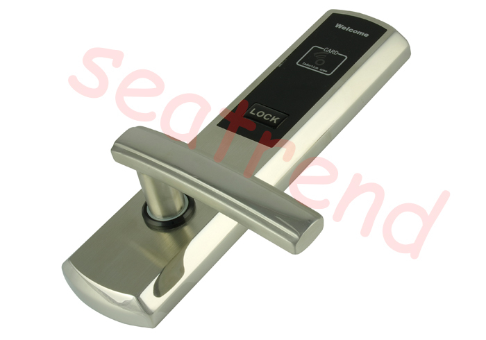 Handle Door Lock Push Button Locks Door Lock With Smart Card