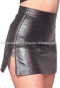 Leather Skirt (SKRT-009)