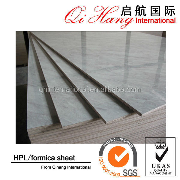 High quality hpl compact laminate table top / high-pressure laminates / formica sheet for decoration