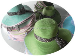 Factory First Choice recycled big beach hats