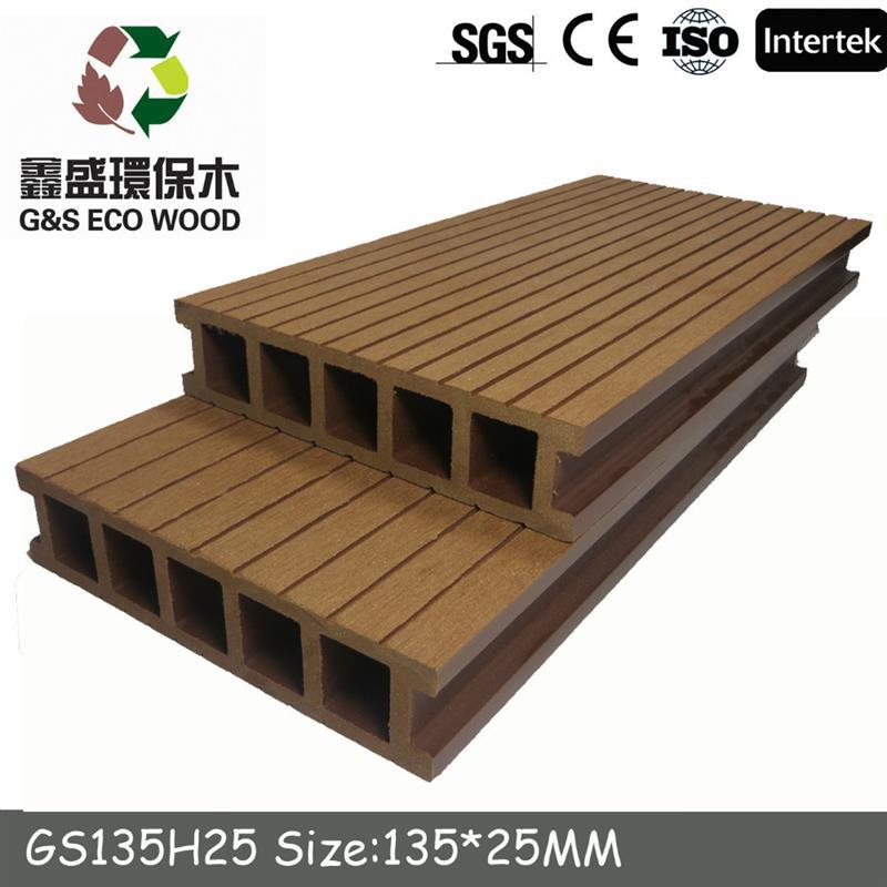 Huzhou factory / outdoor decking decorate /engineered tile wpc