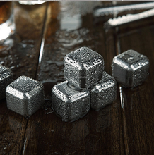 Stainless Steel Chilling Ice Cubes,Scotch Whisky Rocks,Freezing Whiskey stones