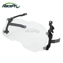 Clear Lens Cover Motorcycle Protective Guard Headlight For BMW R1200GS Adventure ADV 2013-2016