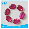 guojie brand wholesale Eco-friendly acrylic material Synthetic diamond rhinestones