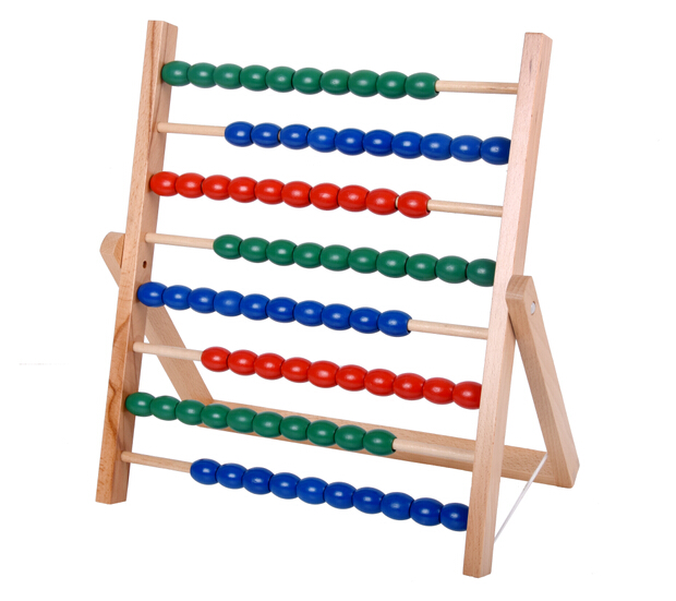 Best quality wooden Montessori Educational materials large bead chain frame sets for sale