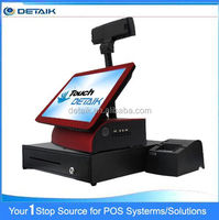 DTK-POS1578 15 Inch OEM All In One POS System Retail Shop Touch Screen Cash Register