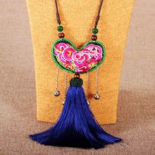New Arrival 9pcs Choker Sets National Design Embroided Design Choker Necklace For Women