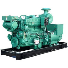 45kw to 500kw Water Cooled Diesel Marine Generator Set For Boat