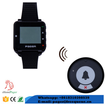 new model text display watch wireless nurse call system hospital