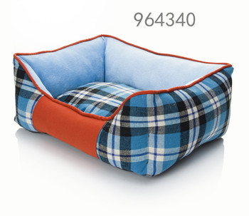 Quality assurance customized blue dog bed