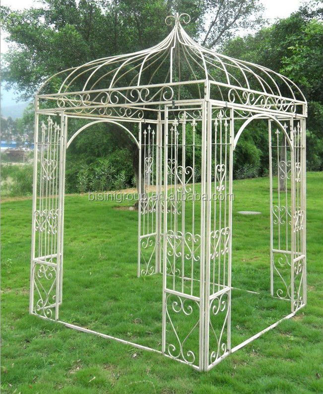 Europe Style Outdoor Garden Wrought Iron Gazebo bf10 m545