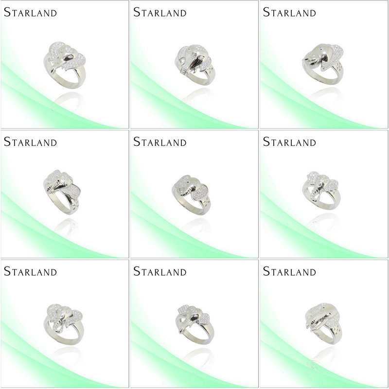 Starland <strong>diamond</strong> Fine and noble Hot Sell Silver Ring Jewelry bangkok