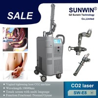 SUNWIN beauty medical CO2 laser fractional scar removal stretch mark removal