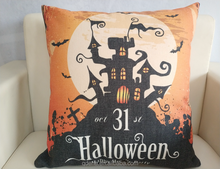 Wholesale Custom Digital Print Halloween Throw Indian Pillow Cushion Cover