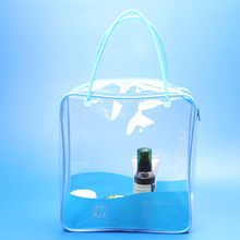 Clear PVC Plastic Type and Plastic Material blanket storage bag with zipper top