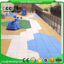 500X500mm Floor Mat Anti-Slip Anti-Skid 20Mm Epdm Rubber Mat