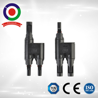 CE approved High Quality T branch PV004 2 Pins Mc4 Connector
