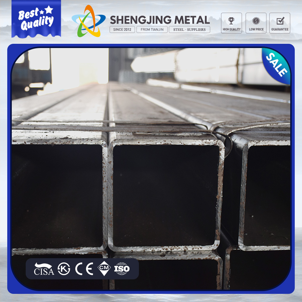 International Trading High Quality Black Square / Rectangular Steel Pipe