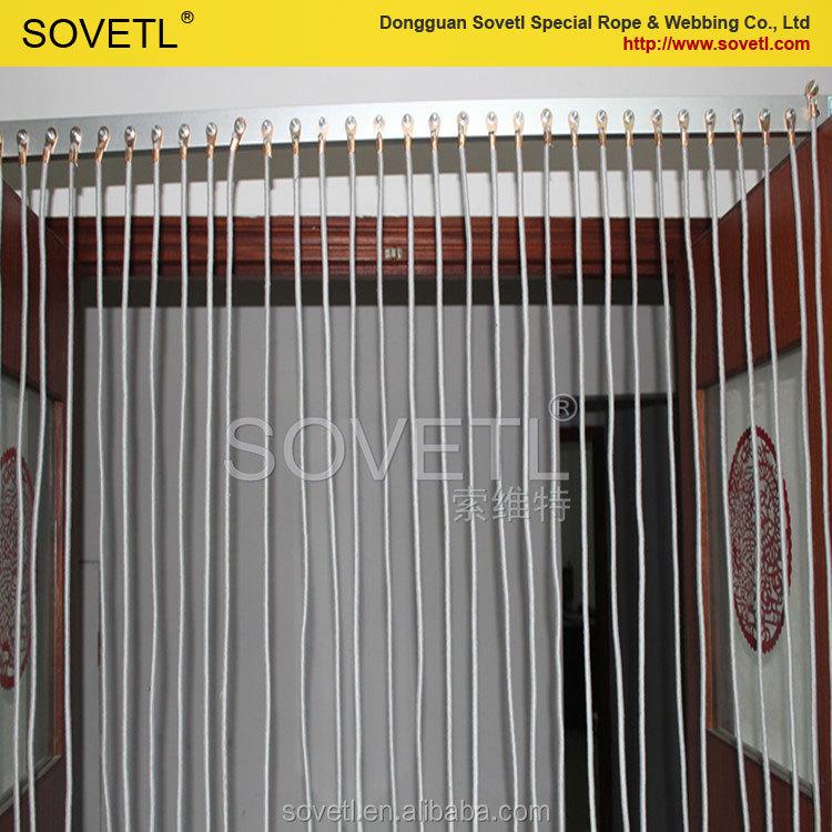 Anti Static Curtains : Anti static rope door curtain for decorative