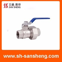 Contemporary design Quality Supplier copper ball valve types hot water ball valve ball cock valve