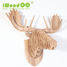 Deer head crafts, artificial deer head WDM002M