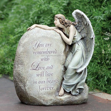 cheap china angel engraving marble sculpture tombstone