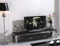 CT8017 new design metal new model modern tv stand showcase