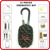wholesale paracord survival kit for outdoor