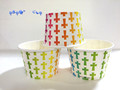 colourful ice cream paper bowl high quality paper bowl